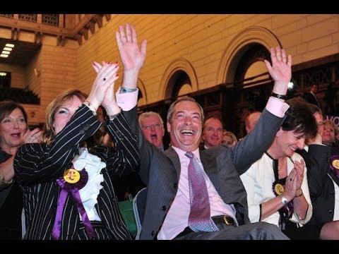 Nigel Farage, el gran vencedor de las Europeas